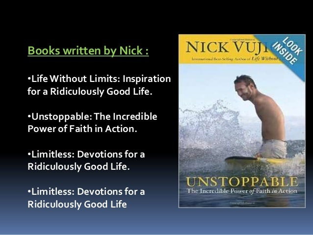 Nick vujicic essay