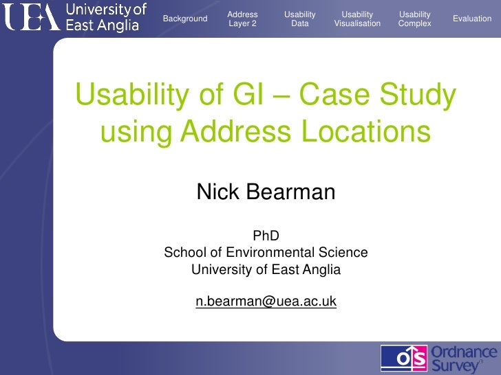 Address   Usability     Usability     Usability       Background                                                     Evalu...