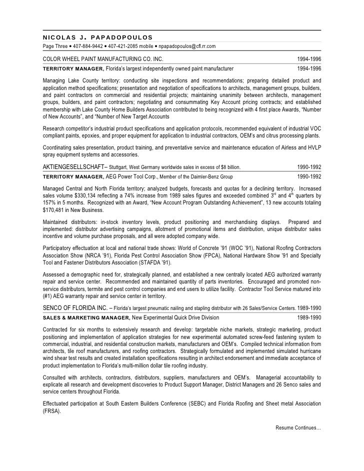 3 product support manager resume