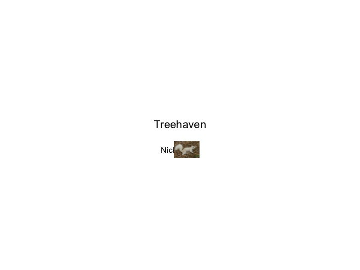 Treehaven Nick Kahle