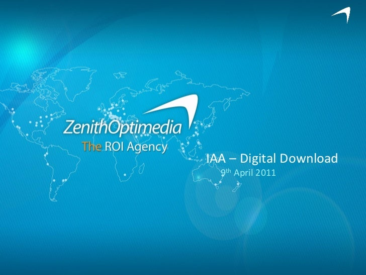 IAA – Digital Download  9th April 2011