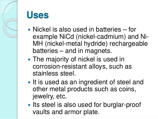 the description of corrosion and its economic importance Nickel institute nickel use in society socio-economic benefits corrosion resistance socio-economic reports on the importance of nickel to brazil.