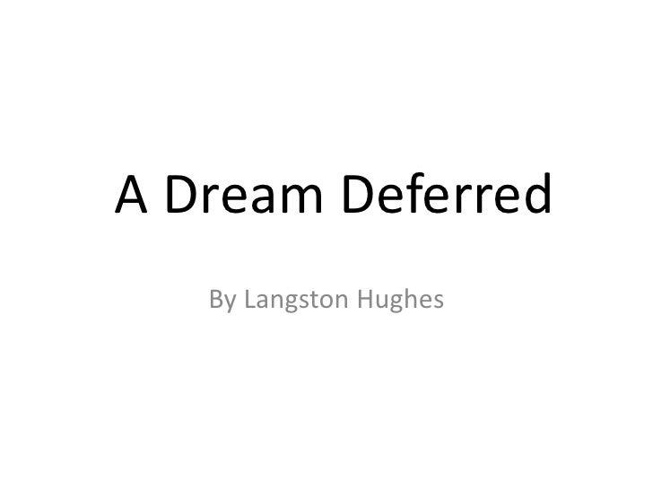 Langston Hughes Slide 2