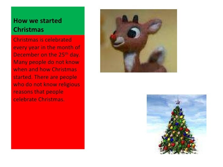how we started christmas - How Christmas Started