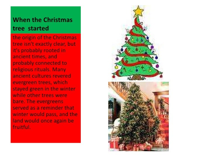 14 when the christmas tree started the origin - Origin Of Christmas Tree