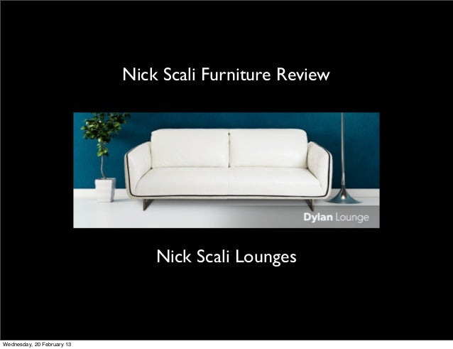 Nickscali Furniture Reviews Sales Records