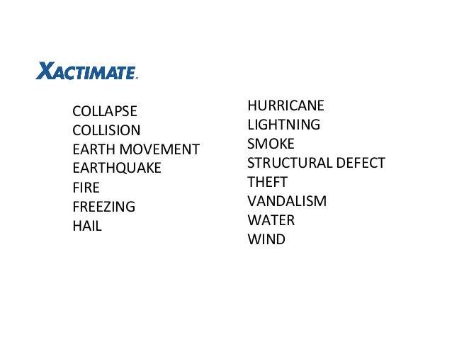 Xactimate Code