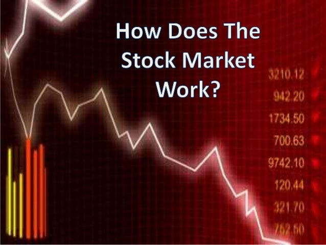 How do stock market options work