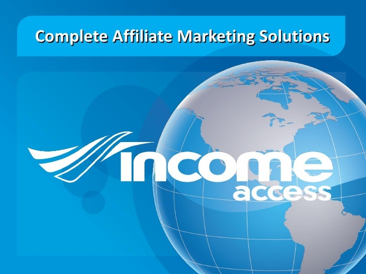 Complete Affiliate Marketing Solutions