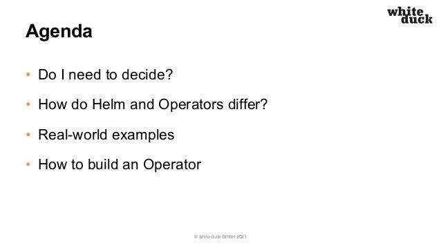 DevOpsCon Berlin: Helm vs Operators – Do I Need to Decide? Slide 3