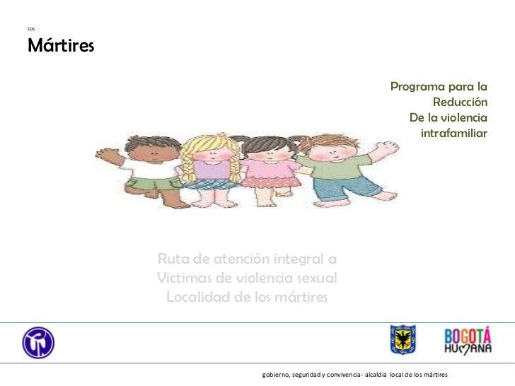 LosMártires                                                                       Programa para la                        ...