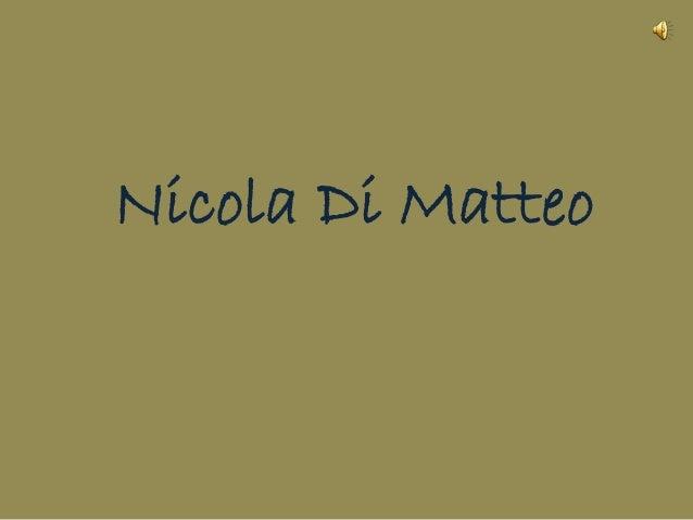 Nicola Di Matteo