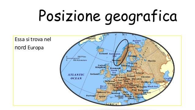 Cartina Geografica Norvegia Fisica.La Norvegia
