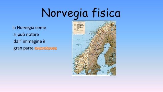 Cartina Politica Norvegia.La Norvegia