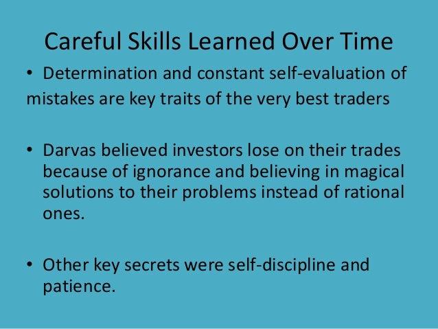 Nicolas darvas' box trading system