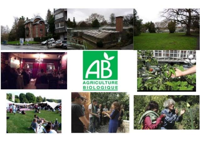 LE PROJET : Réhabiliter le jardin botanique et en faire un lieu de rencontre entre les habitants et les étudiants. Ce sera...