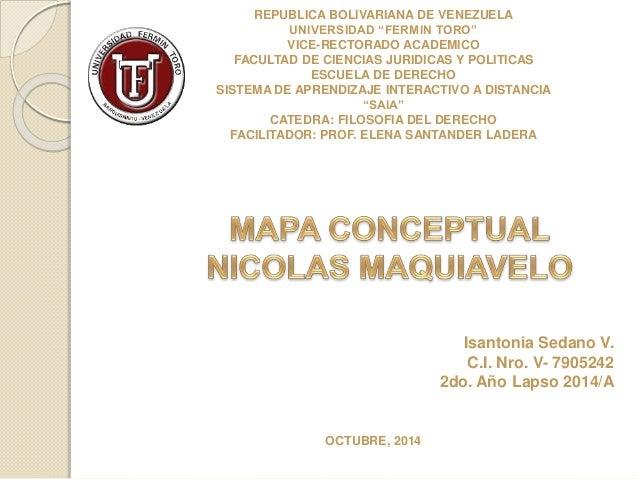 """REPUBLICA BOLIVARIANA DE VENEZUELA  UNIVERSIDAD """"FERMIN TORO""""  VICE-RECTORADO ACADEMICO  FACULTAD DE CIENCIAS JURIDICAS Y ..."""