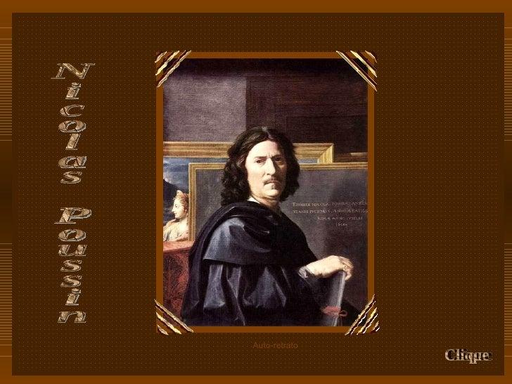 Nicolas Poussin Clique Auto-retrato