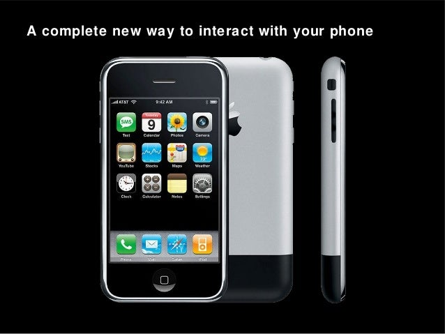 A complete new way to interact with your phone