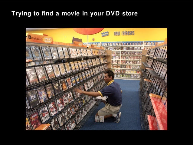 Trying to find a movie in your DVD store