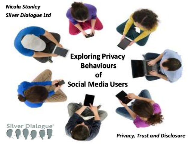 1#SRAConf 2013#SRAConf 2013Exploring PrivacyBehavioursofSocial Media UsersNicola StanleySilver Dialogue LtdPrivacy, Trust ...