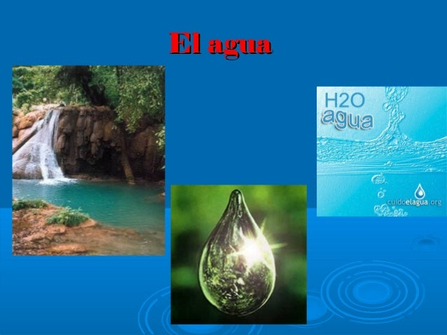 El aguaEl agua