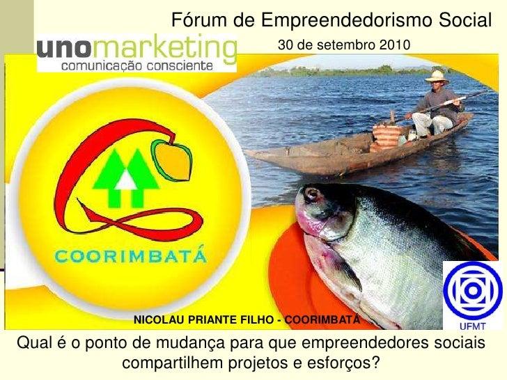 Nicolau Priante Filho - Coorimbatá