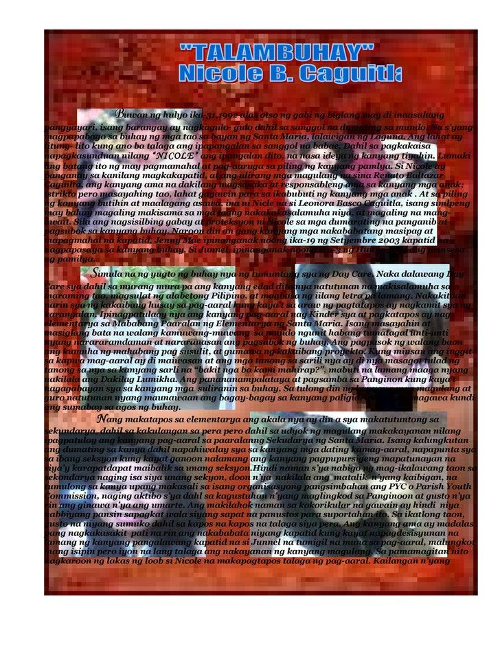 Buwan ng hulyo ika-31,1992 alas otso ng gabi ng biglang may di inaasahang pangyayari, isang barangay ay nagkagulo- gulo da...