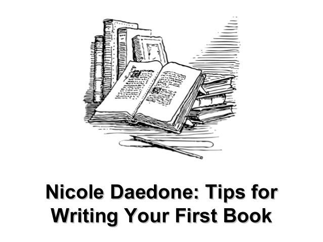 Nicole Daedone: Tips for Writing Your First Book