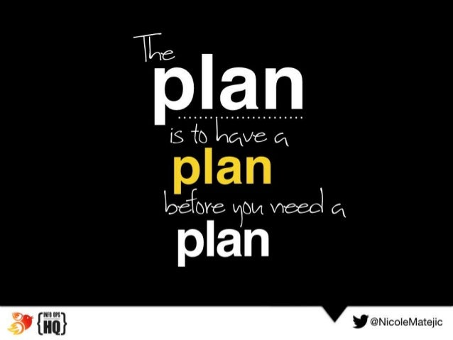 Image result for Have a plan