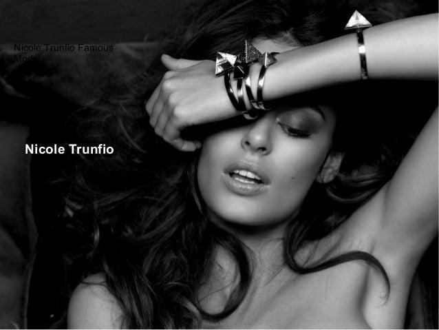 Nicole trunfio famous model Slide 2