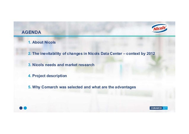 Comarch Cloud - An optimal environment for Nicols' business Slide 2