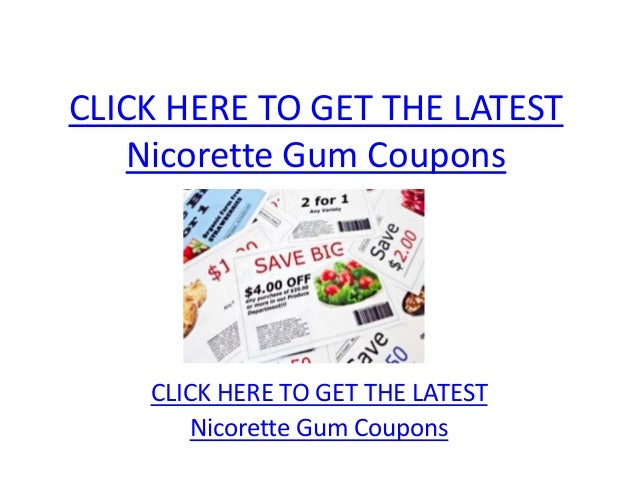 CLICK HERE TO GET THE LATEST   Nicorette Gum Coupons    CLICK HERE TO GET THE LATEST        Nicorette Gum Coupons