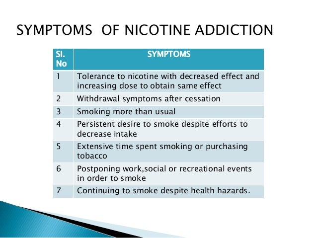 Tobacco/Nicotine and E-Cigs
