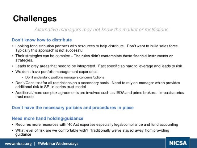 separately managed accounts pros and cons