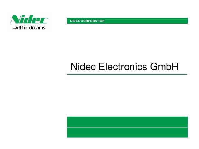 Nidec Electronics Gmbh