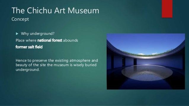 Chichu art museum, Japan