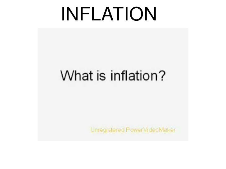 INFLATION<br />