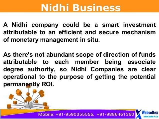 Nidhi company full form, nidhi chit fund company, nidhi company manag…