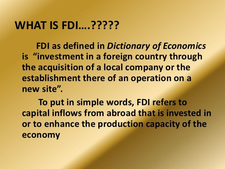 fdi in automobile sector in india Fdi inflows to automobile industry have been at an increasing rate as india has witnessed a major economic  opportunities of fdi in the automobile sector in india.
