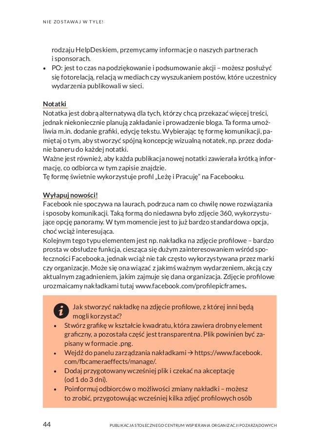 f79efb57fe86f2 Publikacja SCWO: Jak promować NGO w mediach społecznościowych?