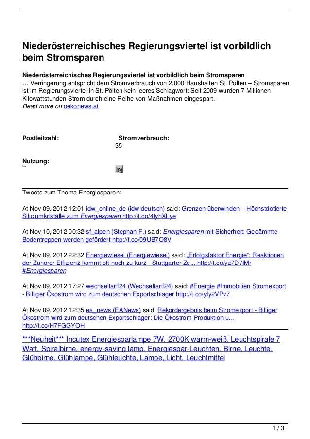 Niederösterreichisches Regierungsviertel ist vorbildlichbeim StromsparenNiederösterreichisches Regierungsviertel ist vorbi...