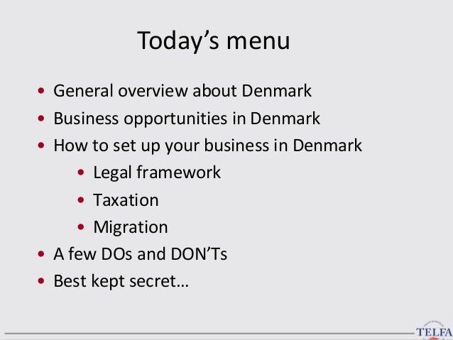 Niels Christian Docker. Doing Business in Denmark 07.06.2013