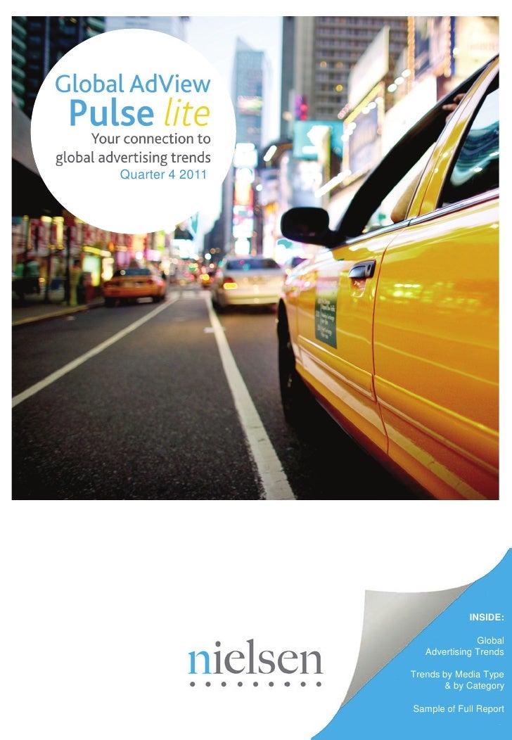 Quarter 4 2011                              INSIDE:                                Global                    Advertising T...