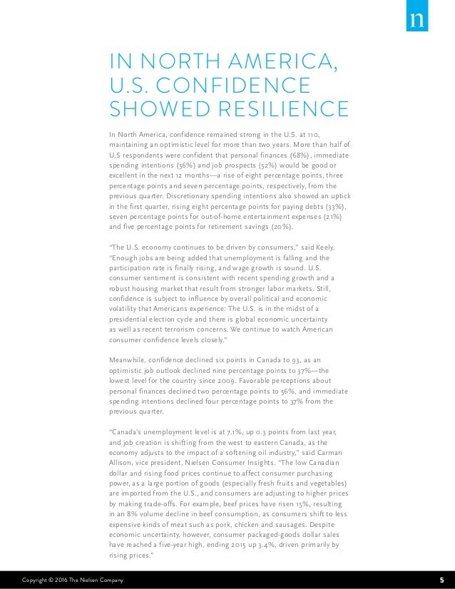 role of consumer confidence 1 1 Gallup's us economic confidence index climbed to its highest level in nine years last week it is impossible to know which of these events played the most important role in boosting americans' confidence last week employment, economic confidence, job creation, consumer spending.
