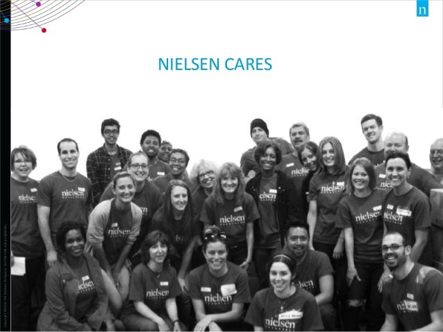 Copyright ©2012 The Nielsen Company. Confidential and proprietary.  NIELSEN CARES  12