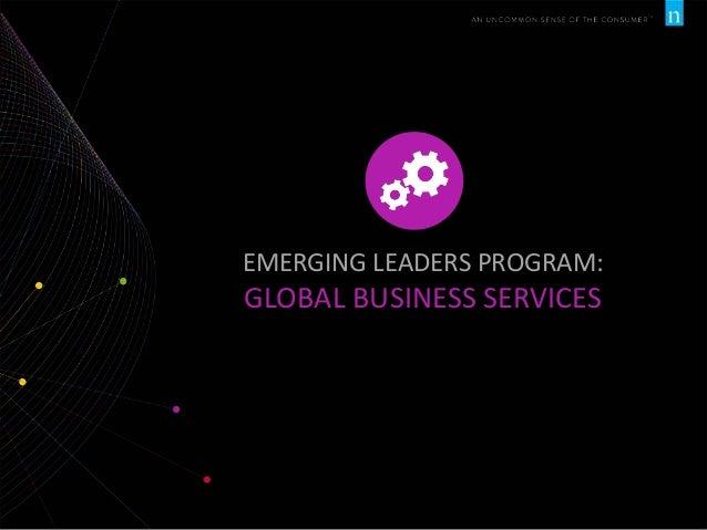 EMERGING LEADERS PROGRAM:  GLOBAL BUSINESS SERVICES