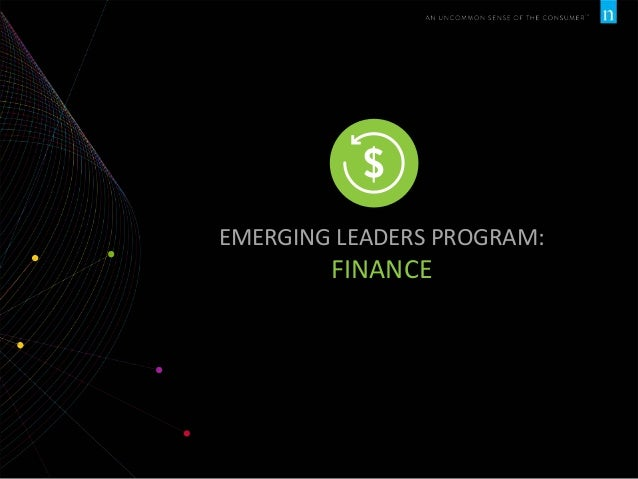 EMERGING LEADERS PROGRAM:  FINANCE