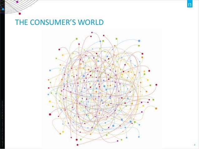 Copyright ©2012 The Nielsen Company. Confidential and proprietary.  THE CONSUMER'S WORLD  3