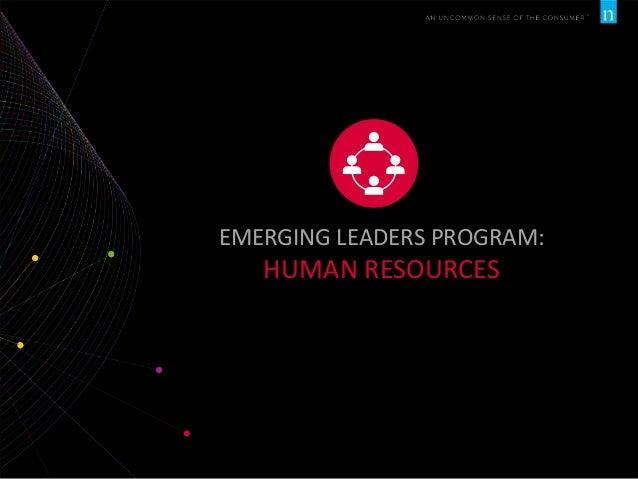EMERGING LEADERS PROGRAM:  HUMAN RESOURCES